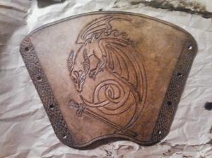 Dragon Armguard